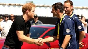 HRH Prince Harry Meets the France Team