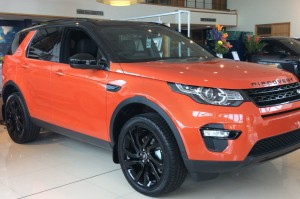 Show room Discovery sport