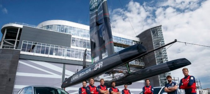 Land Rover BAR victorious at Portsmouth
