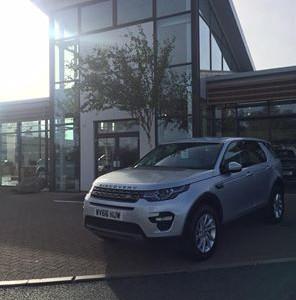 66 Plates leave Grange Land Rover Swindon