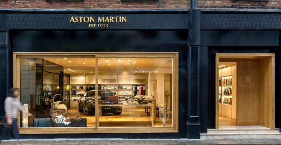 Aston Martin opens their first brand experience boutique in Mayfair
