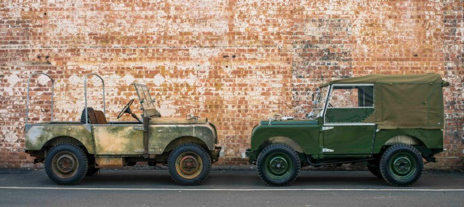 Land Rover classic opens it's doors.