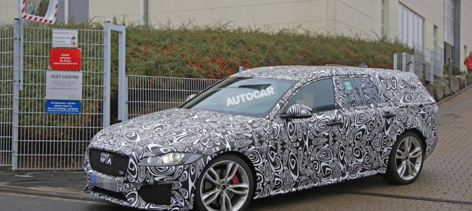 First Spy Shots of the Jaguar XF S Sportbrake