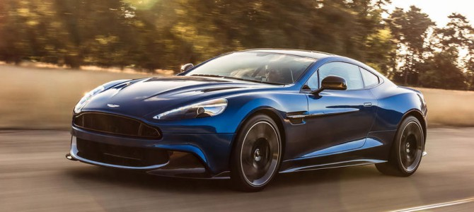 The new ramped up Aston Martin Vanquish S available to order now