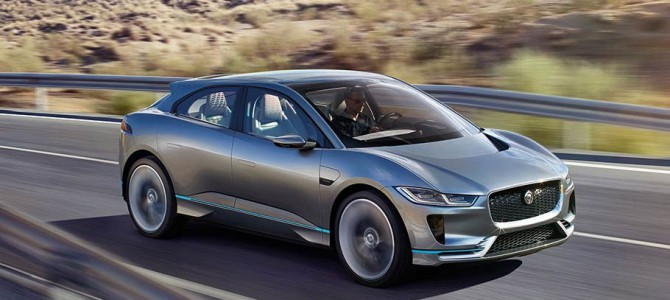 Jaguar Announce First All Electric Vehicle