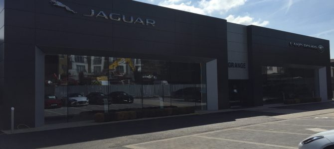 Grange Jaguar & Land Rover Barnet gets a rebuild and looks absolutely stunning!