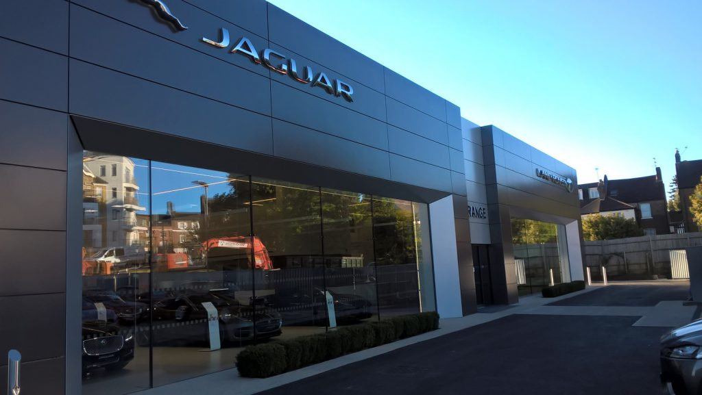 grange barnet opens new jaguar land rover dealership – grange