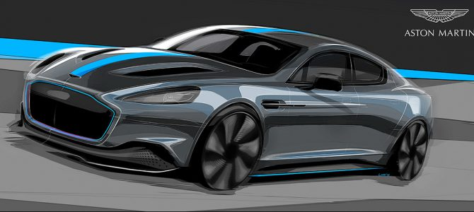 Aston Martin confirms production of first all-electric car – the stunning RapidE