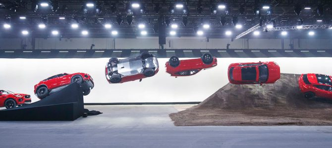 All-new Jaguar E-PACE revealed with epic barrel roll – Watch the film here