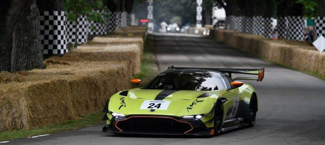 Aston Martin at Goodwood's Festival of Speed