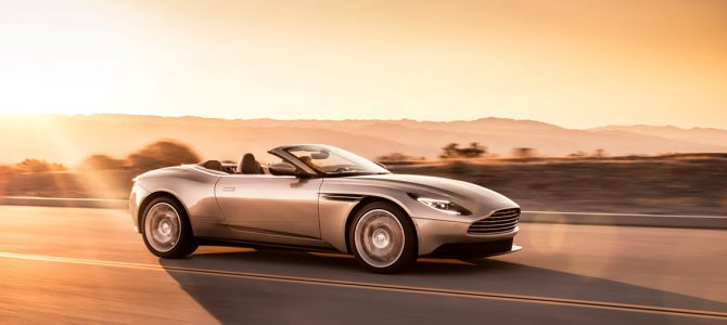 DB11 Volante: The return of the ultimate sports convertible GT – Press Release