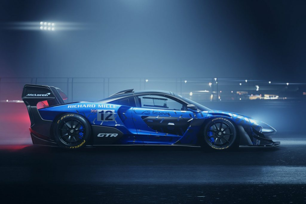 The new Mclaren Senna GTR, an ultimate track car... unleashed